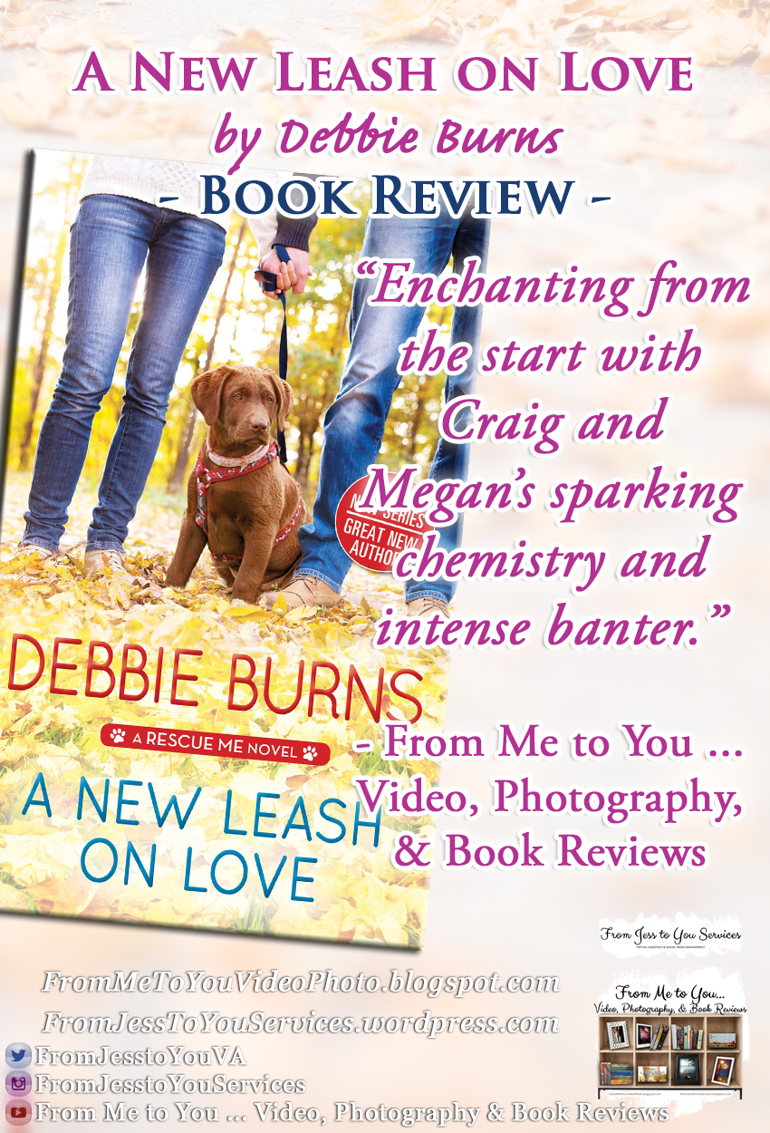 A NEW LEASH ON LOVE by Debbie Burns [ #BookReview ] -- 5 out of 5 stars