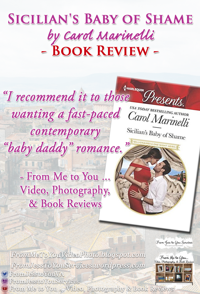SICILIAN'S BABY OF SHAME by Carol Marinelli [ #BookReview ] -- 3.5 out of 5 stars