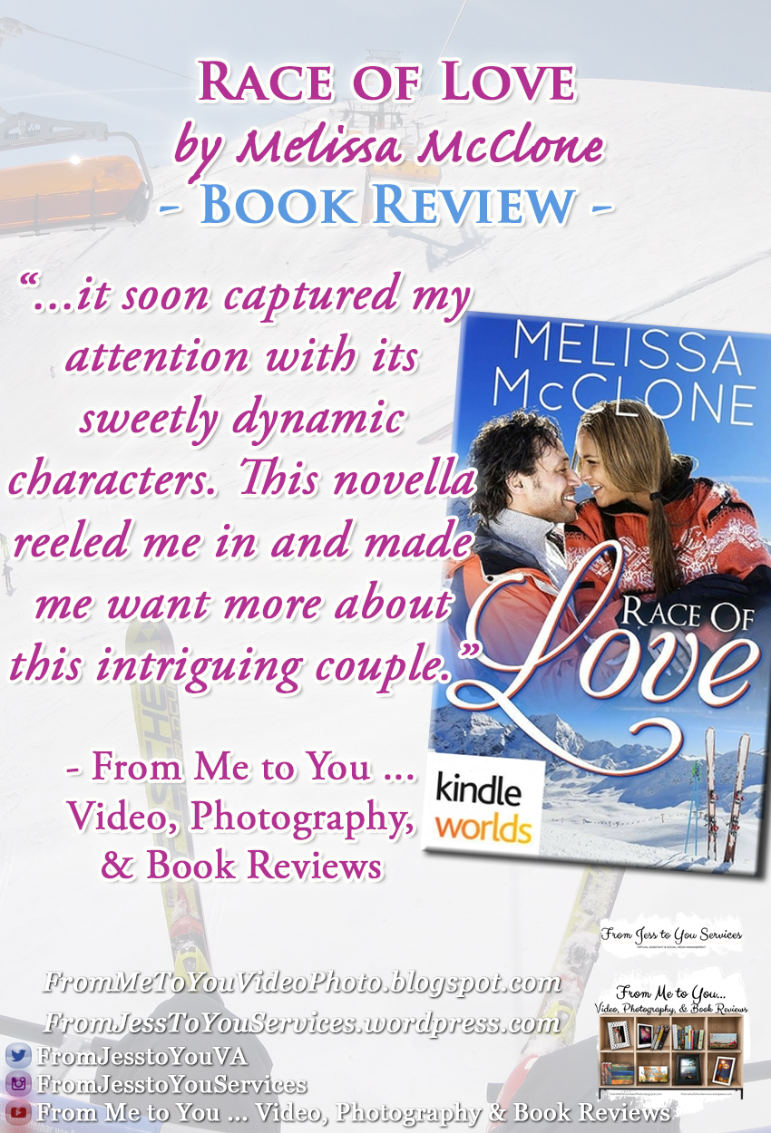 RACE OF LOVE by Melissa McClone [ #BookReview ] -- 4 out of 5 stars