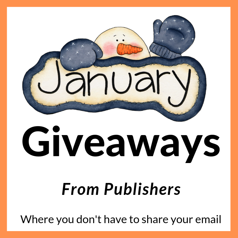 January Book Giveaways