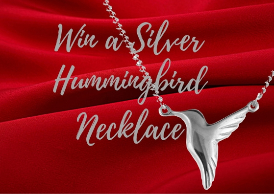 WIN A Silver Hummingbird Necklace Giveaway