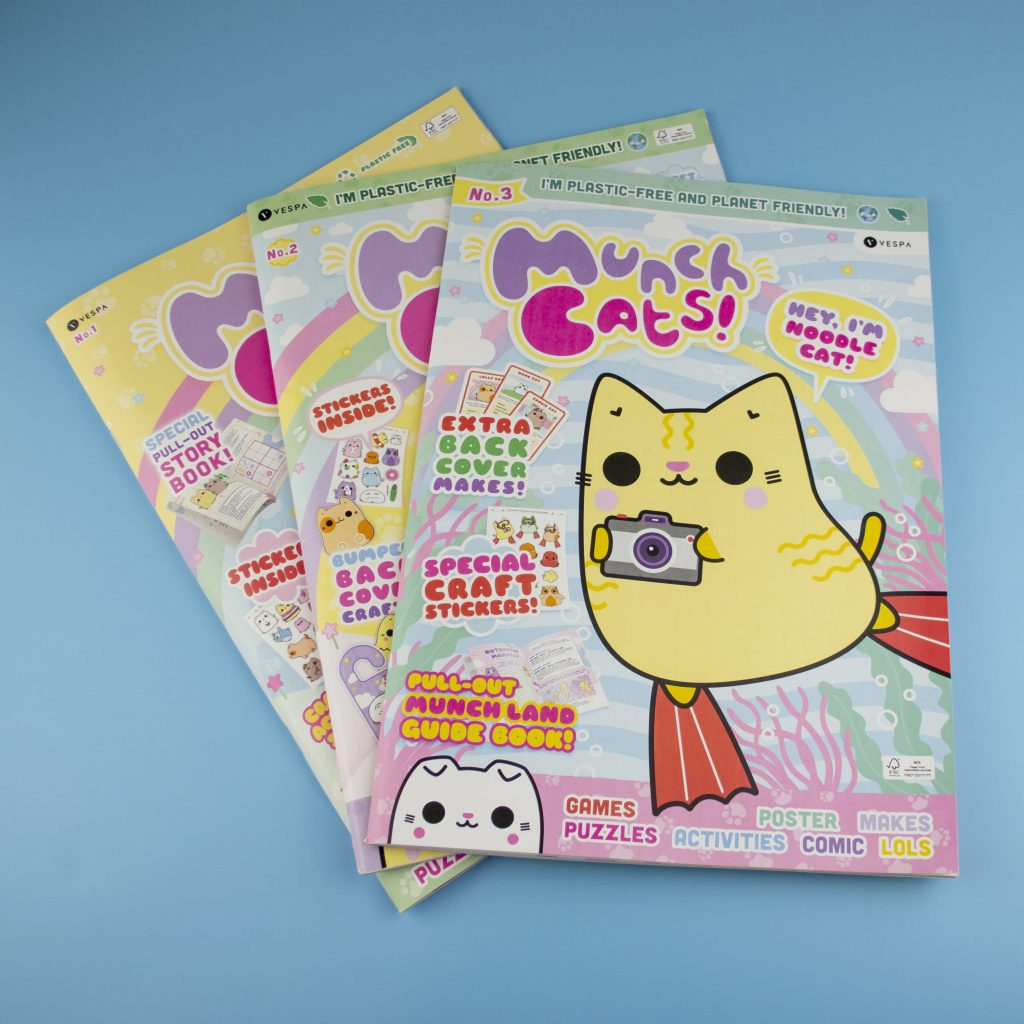 Munch Cats Kids Magazine Giveaway