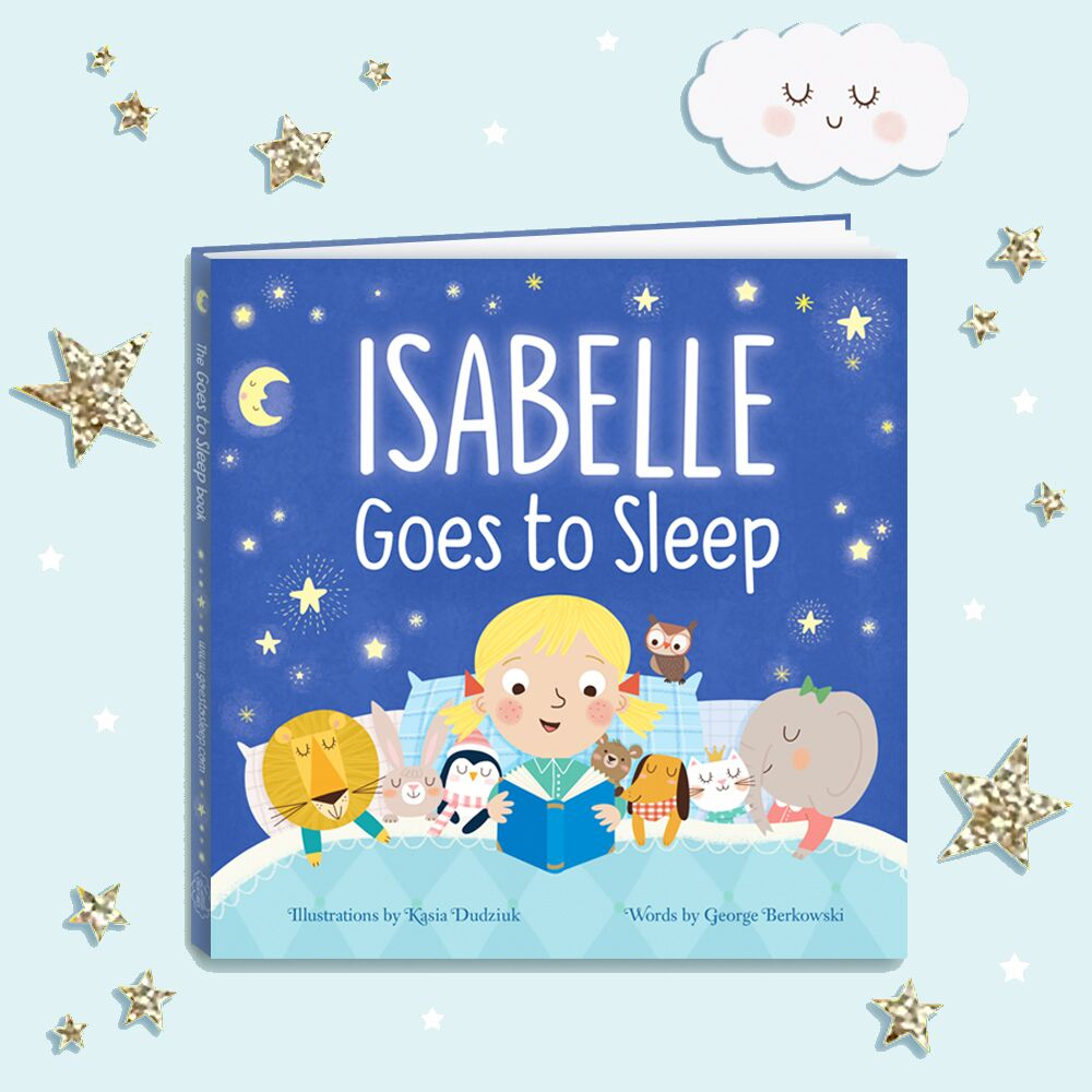 Win A Personalised Goes to Sleep Book